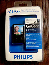 Philips Digital Audio Video Player GoGear SA3025 2GB MP3 WMA FM Radio - Sealed