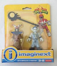NIB Fisher-Price Imaginext Power Rangers Rita Repulsa & Finster