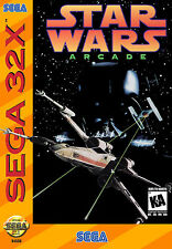 Star Wars Arcade SEGA 32X Framed Print (Man Cave Picture Poster Game Joda Art)