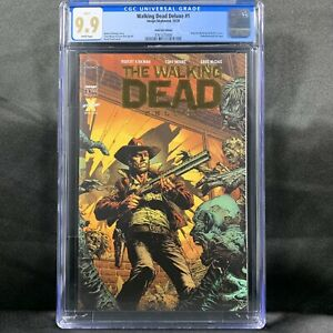 Walking Dead: Deluxe Issue 1 (2020) Image Comics David Finch Gold Foil CGC 9.9