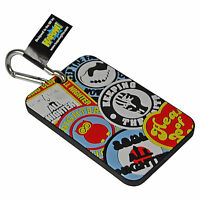 Northern Soul Retro Luggage Tag. Suitcase Holiday Baggage Clip Travel Cool Gift