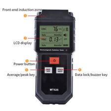 1pc Lcd Digital Electromagnetic Radiation Detectors Emf Meter Geiger Testers