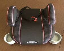 New listing Graco Turbobooster Car Seat Child Toddler Kids Safety Backless Booster Girl Pink