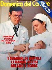 La Domenica del Corriere 11 Aprile 1979 Muhammad Alì Guala Maccione Pavarotti Tv