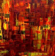 """Acrylbild Malerei abstrakte Kunst Gemälde  Acrylmalerei  """"Farbwelten"""""""