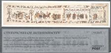 Alderney Bayeux Tapestry min sheet mnh-10345