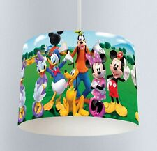 Mickey Mouse Clubhouse (040) Childrens Bedroom Drum Lampshade Light Shade