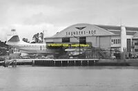 rp8708 - Princess Flying Boat at East Cowes , Isle of Wight - photo 6x4