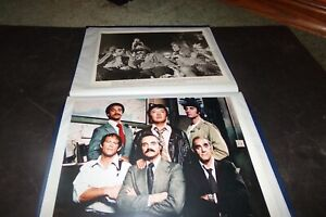 Lot 11 Vintage TV Cast Photos WKRP Barney Miller Three's Company Easy Rider