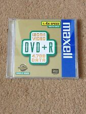 Maxell DVD+R Case & Cover Only Used Condition