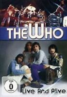 DVD  The Who – Live And Alive  GERMANY SEALED