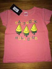 Girls Saltrock T shirt Top 4/5 New With Tags BNWT Hula Club Pink Gift