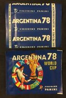 Bustina Pochette Packet Panini Coupe Du Monde Football World Cup Argentina 78