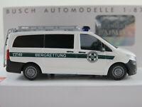 "Busch 51117 Mercedes-Benz Vito (2014) ""Bergrettung Österreich"" 1:87/H0 NEU/OVP"