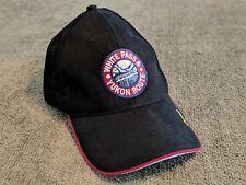 Black & Red WHITE PASS & YUKON ROUTE Railroad Strapback Hat! Skagway Alaska