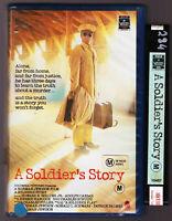 RARE A Soldiers Story - Large VHS Video Tape Vintage