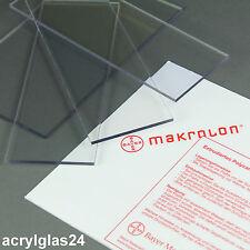 POLYCARBONAT MAKROLON ® 4 mm x 1800 mm x 800 mm