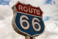 Route 66 Mother Road USA fridge magnet travel souvenir Fridge Magnet