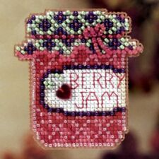 Berry Jam Beaded Cross Stitch Kit Mill Hill 2012 Autumn Harvest