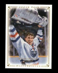 2008-09 UD Masterpieces #38 Wayne Gretzky (ref 109688)