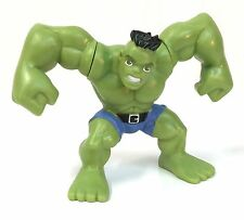 Marvel Super Hero Squad HULK 2 Fists Light Green Torn Jeans from Wave 15    #068