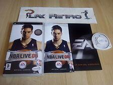 PSP NBA LIVE 06 COMPLETO PAL ESPAÑA