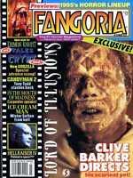 FANGORIA MAGAZINE #140 LORD OF ILLUSIONS, GODZILLA, ICE CREAM MAN, HELLRAISER IV