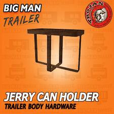 TROJAN JERRY CAN HOLDER TRAILER CARAVAN CAMPER MENTAL CARRIER WELDED 828130
