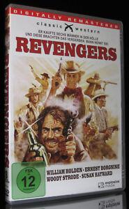 DVD REVENGERS - WESTERN - WILLIAM HOLDEN + ERNEST BORGNINE + SUSAN HAYWARD * NEU
