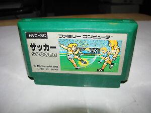 Soccer Nintendo Famicom NES Japan import US Seller