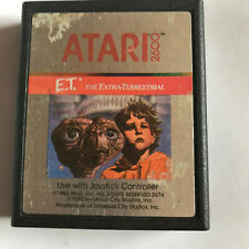 E.T. (ET) The Extra Terrestrial / Cart Only / Atari 2600 Tested & Working PAL #1