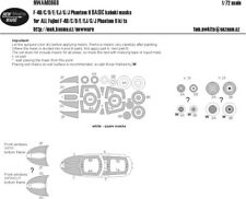 New Ware Mask NWAM0668 1/72 F-4B/C/D/E/EJ/G/J Phantom II BASIC FUJIMI