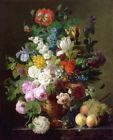 Vase of flowers by Jan Frans van Dael oil painting HD printed on canvas L1835