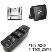 For Mercedes A B Class W245 W169 Window Switch Driver Side Left Button Cap  *)
