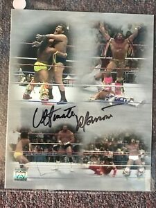 Ultimate Warrior Autographed 8x10 Photo Warrior Foundation Authenticated