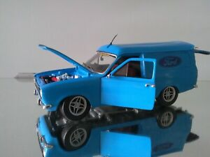 1/18 Diecast modified ford escort van mk 1