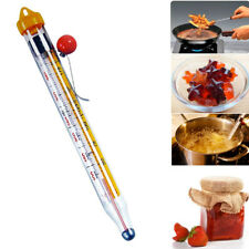 Thermometer Glass Candy Cooking Jam Sugar Deep Fry Cooking Temperature Vintage