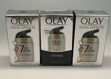 Olay Total Effects 7 in One Moisturizer 0.5 ounces-3 Pack