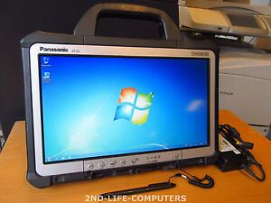 """Panasonic Toughbook CF-D1 Rugged Tablet 13,3"""" WIN 7 8GB 250GB TOUCH + PSU"""