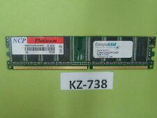 Compuram 1gb DDR 400 memoria RAM pc3200 memoria 1024 MB #kz-738