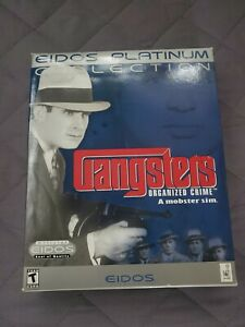 Gangsters: Organized Crime PC Game Circa 1988 Big Retail Box. only box and disk