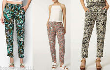 Dorothy Perkins Viscose High Rise Trousers for Women
