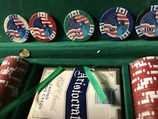 USA Poker Chips Let's Make Poker Great Again