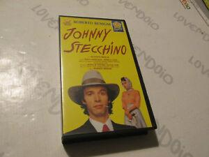JONNY STECCHINO - VHS - Roberto Benigni - Penta Video 1991