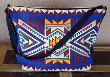 Canvas Stencil Purse 684B-HIPC Southwest Southwestern Design Sturdy Cotton Bag