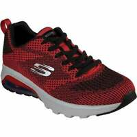 SKECHERS MEN'S SKECH-AIR EXTREME ERLELAND SNEAKER RED/BLACK 11.5 M US 51494