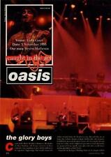 Oasis Sound System UK 'Guitarist' article Clipping