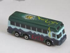 "Vintage 1989 ""ROCKIN' WHEELS"" CYCLE BAND Bus  GALOOB MICRO MACHINES"