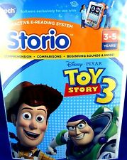 NEW (Sealed) DISNEY V-TECH STORIO Toy Story 3 Interactive Reading Games -in Aust