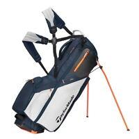 TaylorMade Flextech Stand Golf Bag - New 2021 - Titanium/Gray Cool